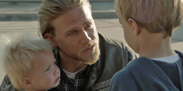 sons of anarchy jax and his sons