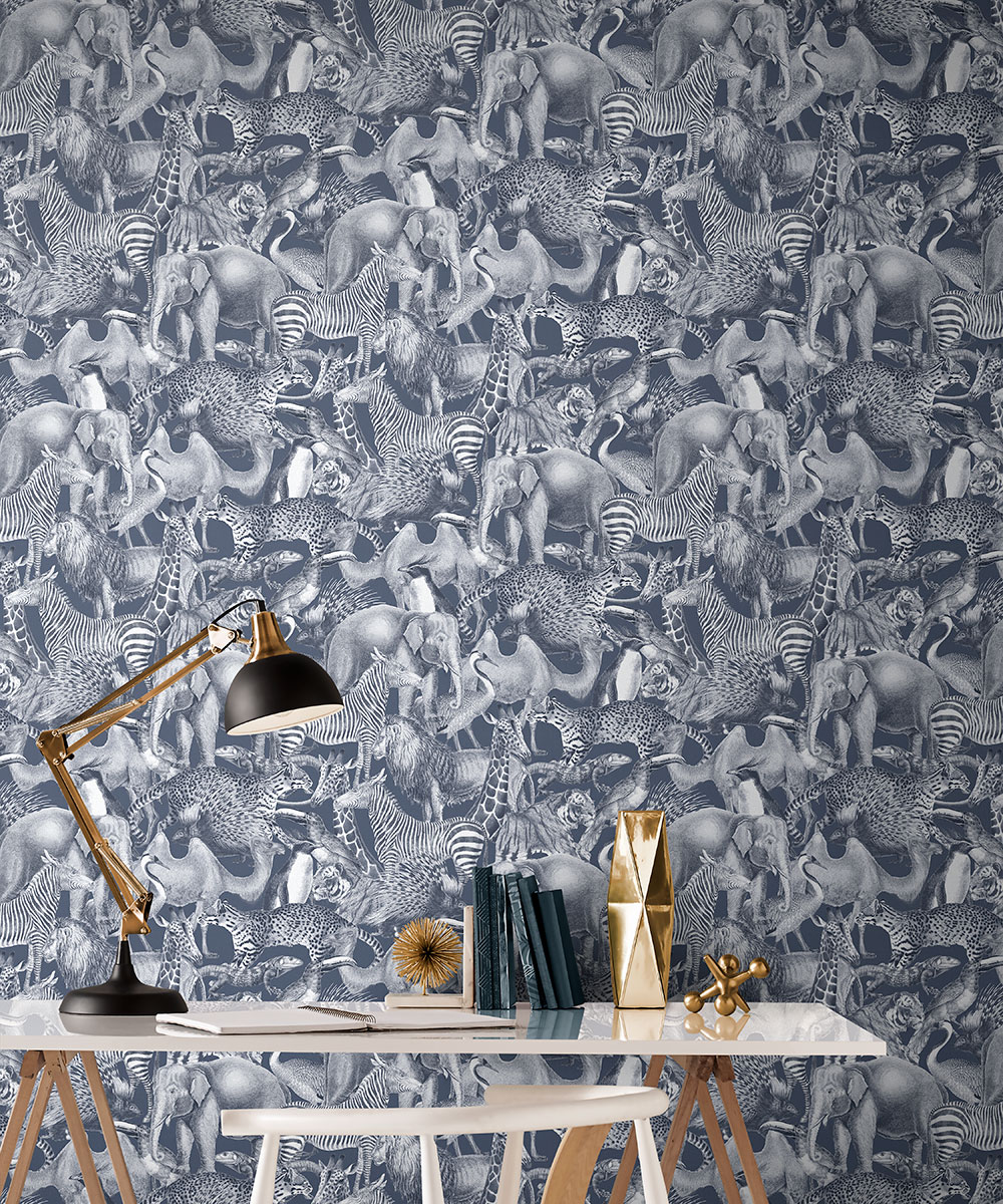 The Graham And Brown Animal Print Wallpapers That Let You Go