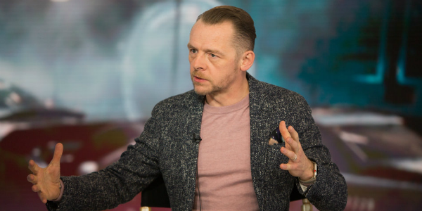Simon Pegg is planning to make more TV shows