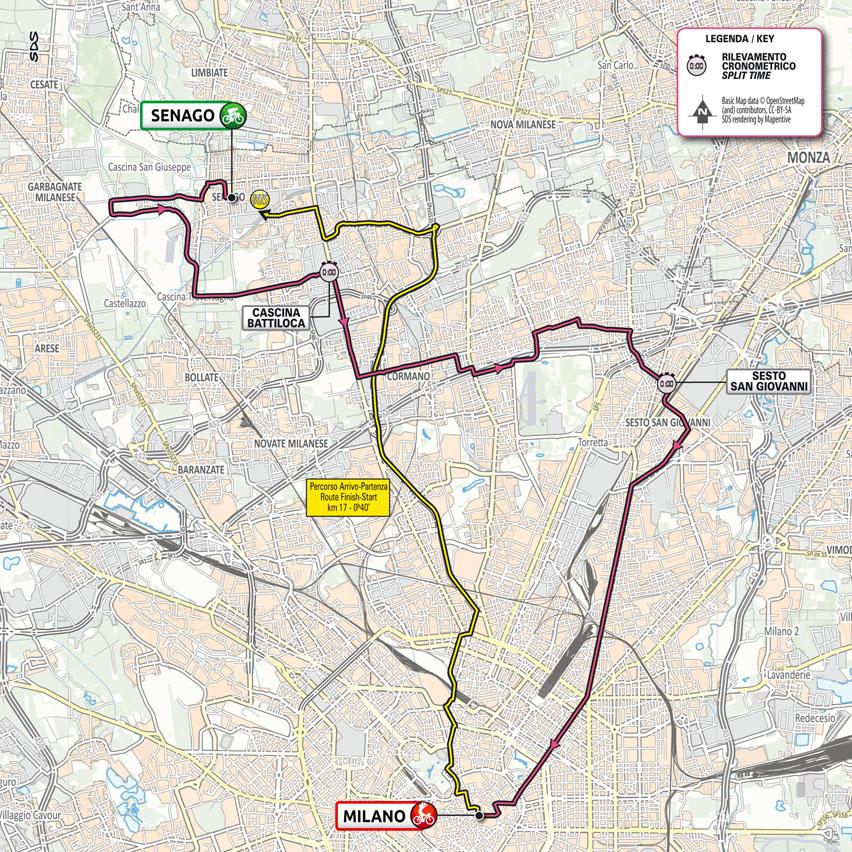 Stage 21 of the Giro d'Italia