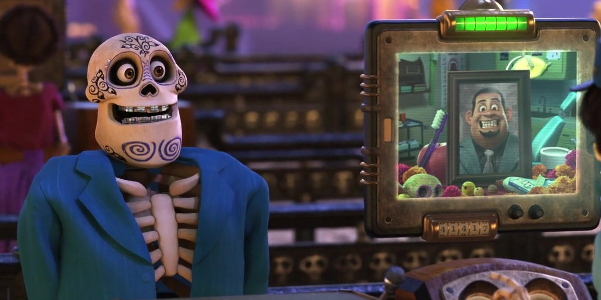 John Ratzenberger as Juan Ortodoncia in Coco