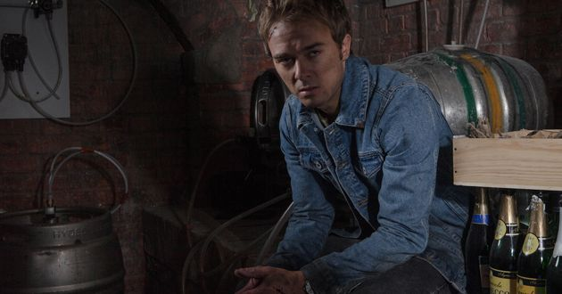 FROM ITV  STRICT EMBARGO - NO USE BEFORE TUESDAY 11 OCTOBER 2016                                  Coronation Street - Week 42  Monday 17 October - Friday 21 October 2016   Having been locked in the Bistro cellar, David Platt [JACK PSHEPHERD] batters on the door in a fit of rage.  Sarah talks to David through the cellar door, he begs her to let him go. His sister refuses, so desperate to escape, David takes matters into his own hands...  Picture contact: david.crook@itv.com on 0161 952 6214  Photographer - Mark Bruce  This photograph is (C) ITV Plc and can only be reproduced for editorial purposes directly in connection with the programme or event mentioned above, or ITV plc. Once made available by ITV plc Picture Desk, this photograph can be reproduced once only up until the transmission [TX] date and no reproduction fee will be charged. Any subsequent usage may incur a fee. This photograph must not be manipulated [excluding basic cropping] in a manner which alters the visual appearance of the person photographed deemed detrimental or inappropriate by ITV plc Picture Desk. This photograph must not be syndicated to any other company, publication or website, or permanently archived, without the express written permission of ITV Plc Picture Desk. Full Terms and conditions are available on the website www.itvpictures.com