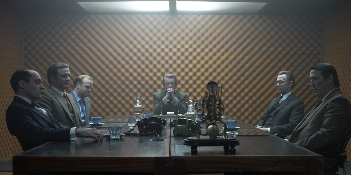 spy meeting in Tinker Tailor Soldier Spy