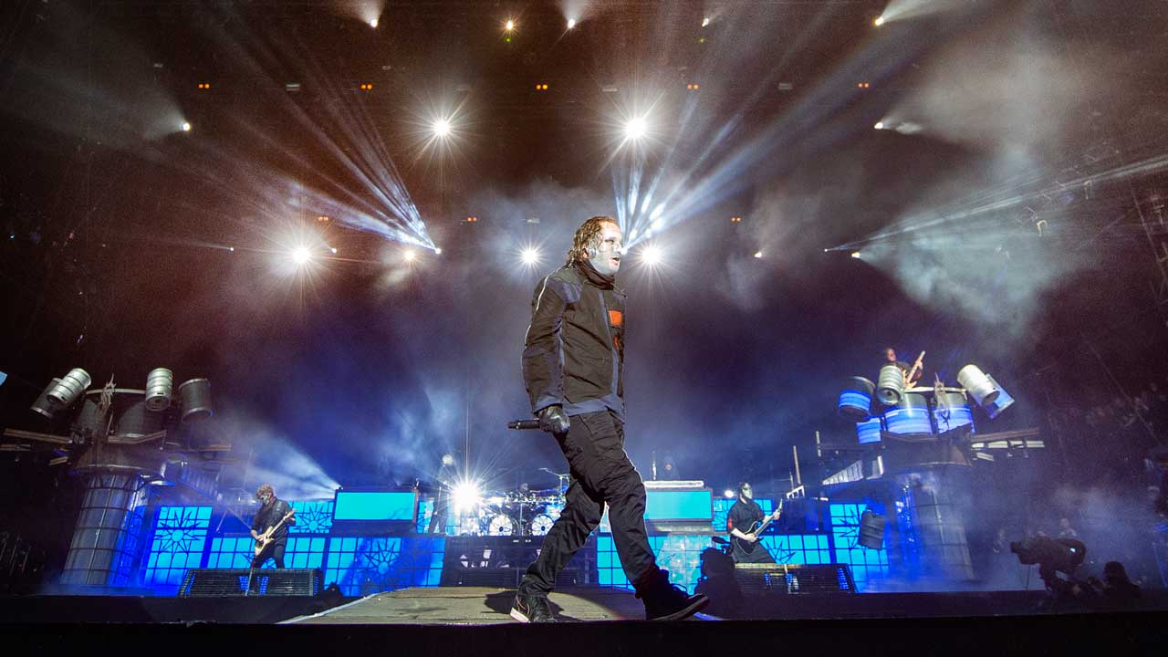"""Corey Taylor: Slipknot attempting """"Iron Maiden stuff"""" with new stage show   Louder"""