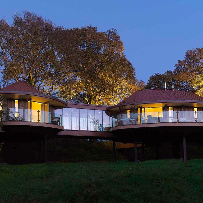 Glamping: Chewton Glen Treehouses