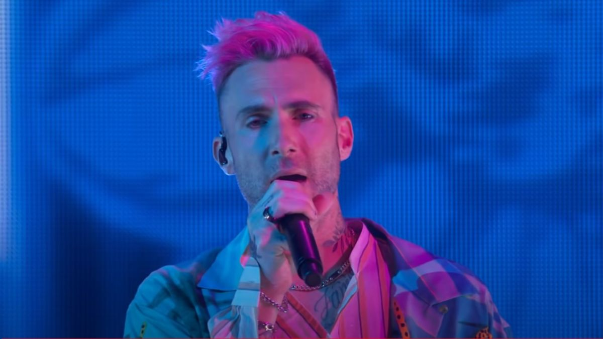 Maroon 5's Adam Levine Explains Creeped-Out Reaction In Viral Concert Video Of Fan Rushing Him On Stage