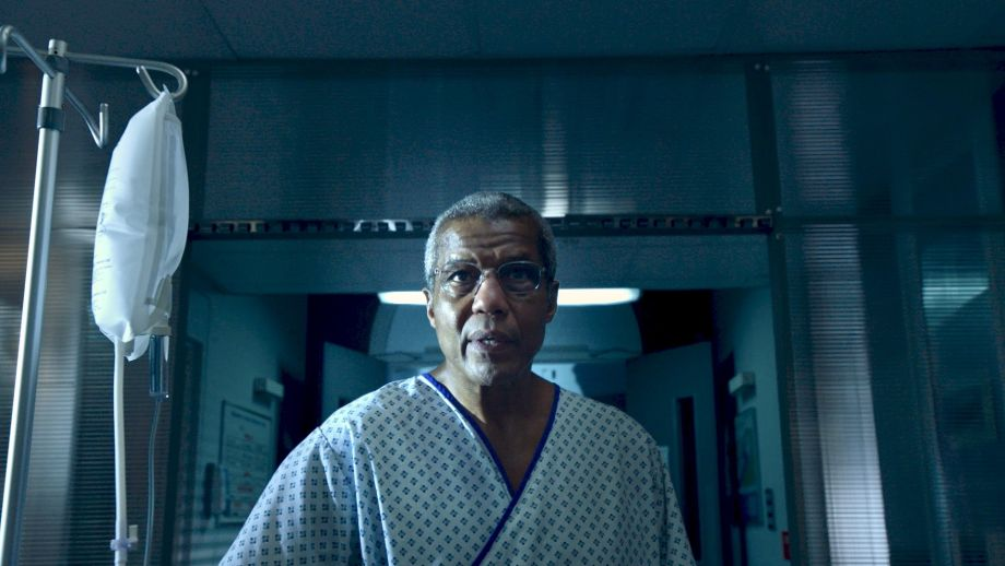 Holby City star Hugh Quarshie plays Ric Griffin