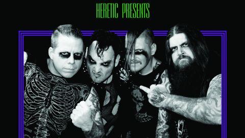 Heretic, 'Underdogs Of The Underworld' album cover
