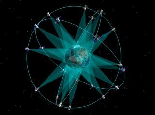 Russia's Glonass Satellite Network