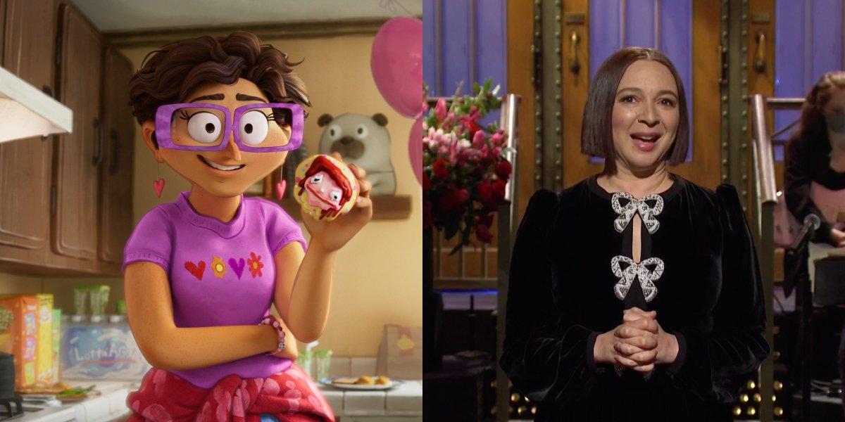 Linda in The Mitchells vs. the Machines; Maya Rudolph on Saturday Night Live