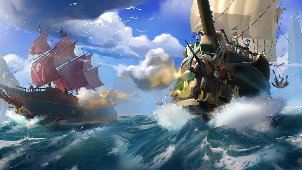 Sea of Thieves for PC runs on a vast range of machines
