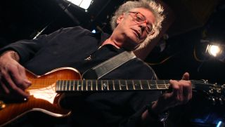 Leslie West performs in New York City in 2006