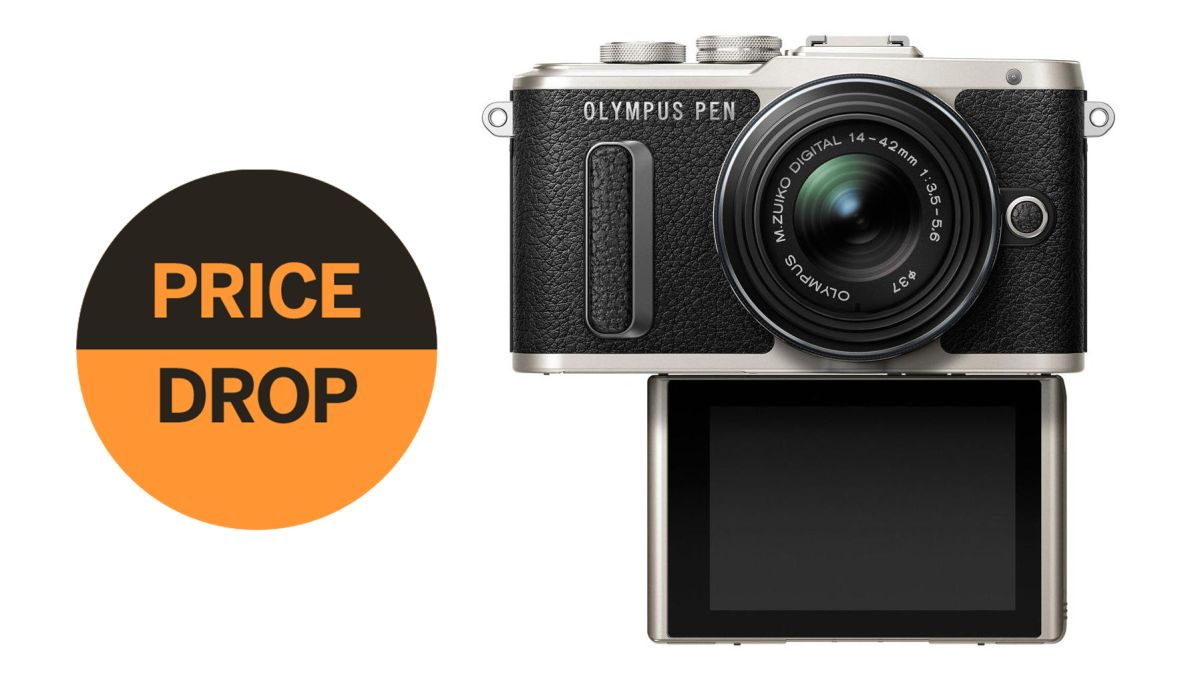 Best Black Friday bargain? Olympus PEN E-PL8 + 14-42mm lens just $289.99!