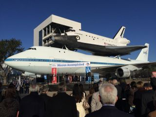 Grand Opening of the Independence Plaza at Space Center Houston