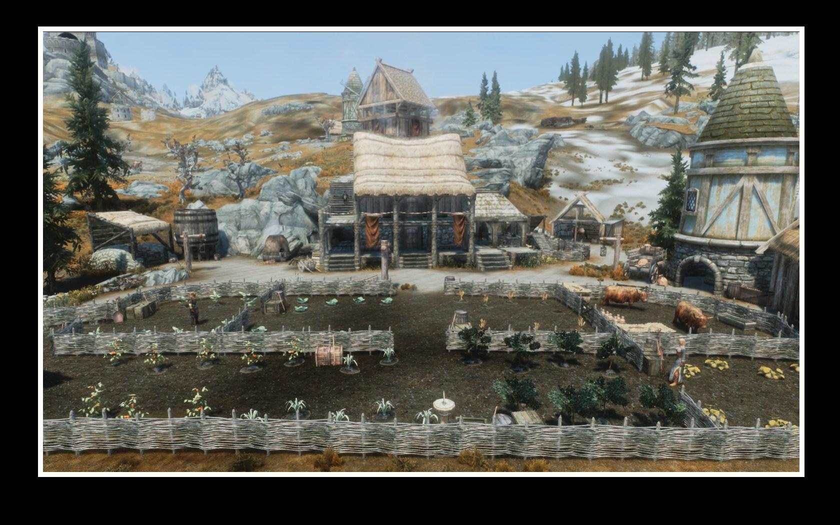 the best skyrim mods: heljarchen farm