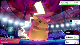 Pokémon Sword and Shield Gigantamax Eevee and Pikachu