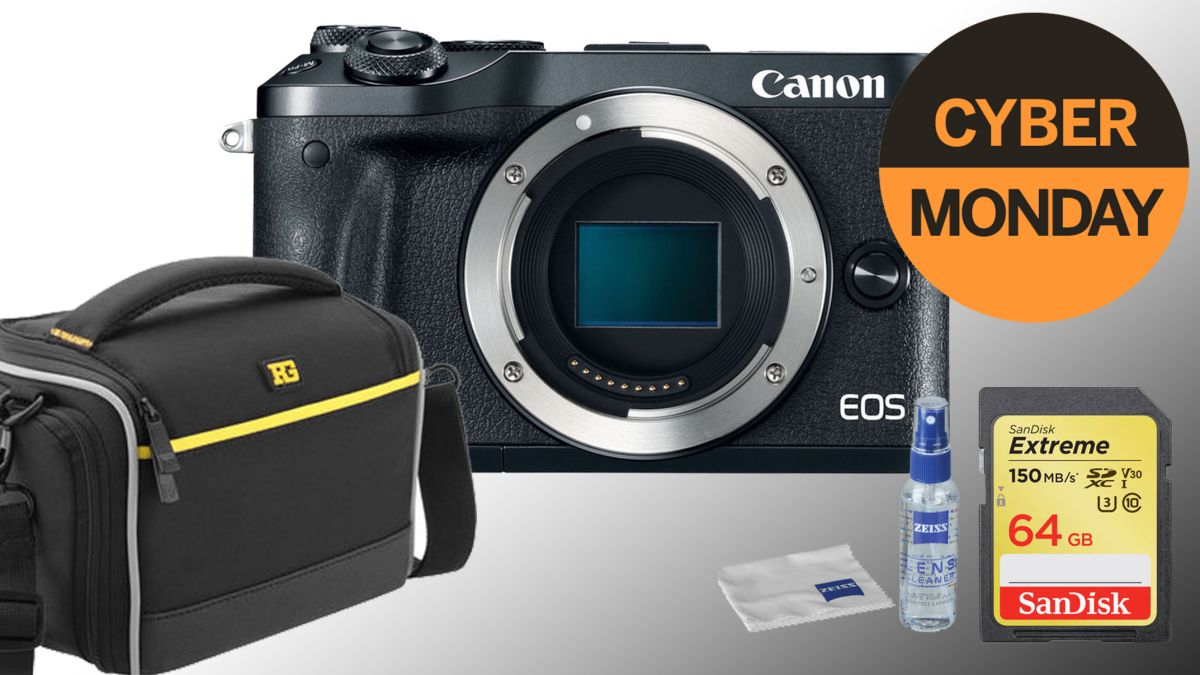 Earlybird Cyber Monday mirrorless deal: Canon EOS M6 down to just $349!!!