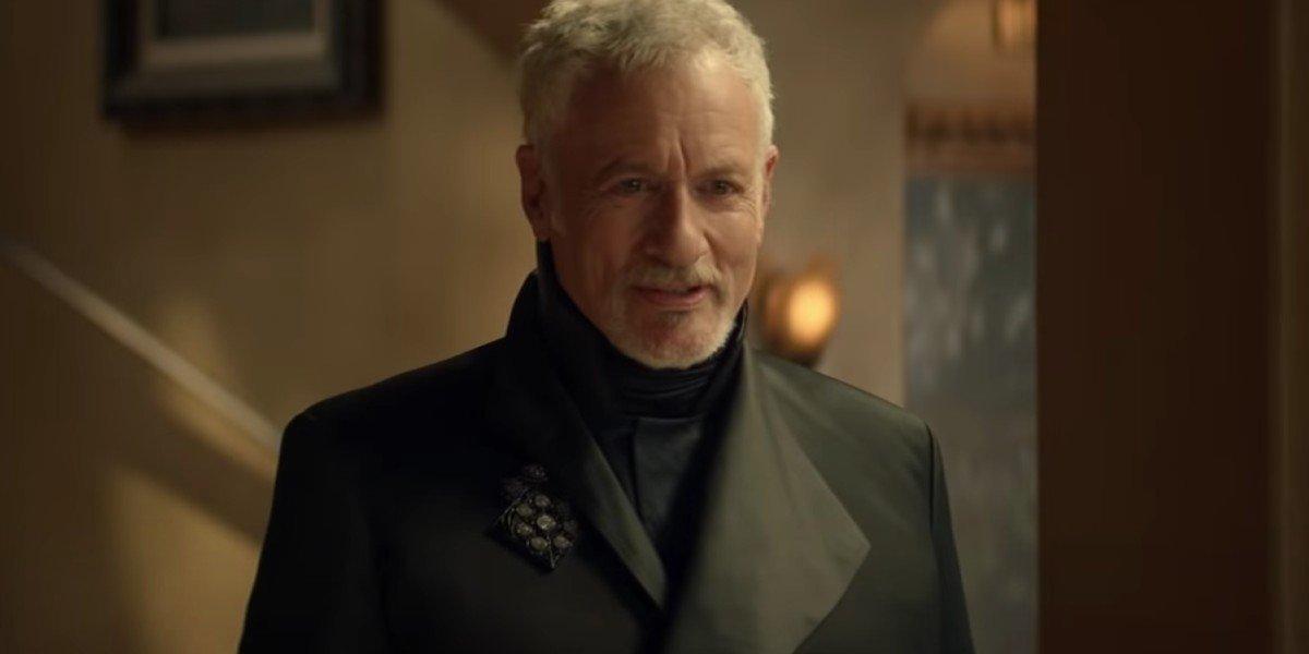 John de Lancie as Q on Star Trek