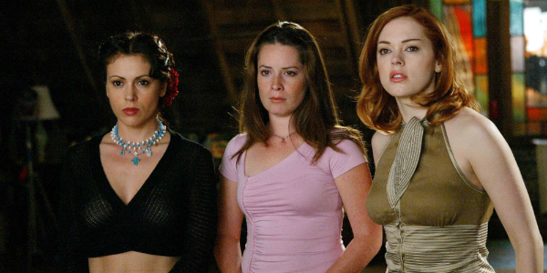 Charmed Alyssa Milano Holly Marie Combs Rose McGowan