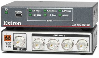 Extron Introduces 12G-SDI Distribution Amplifier
