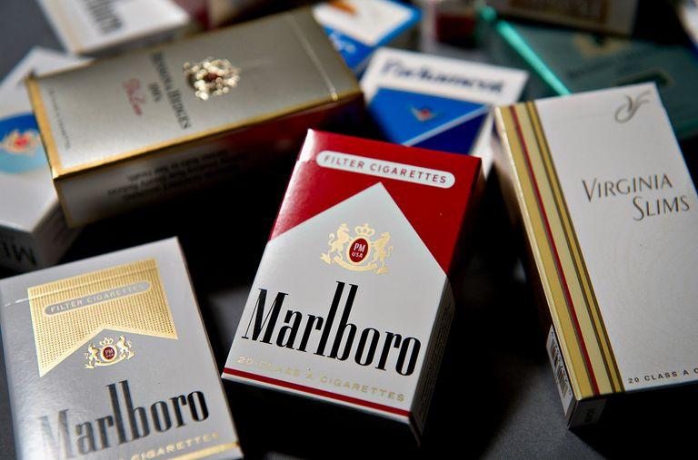 packs of Marlboro cigarettes