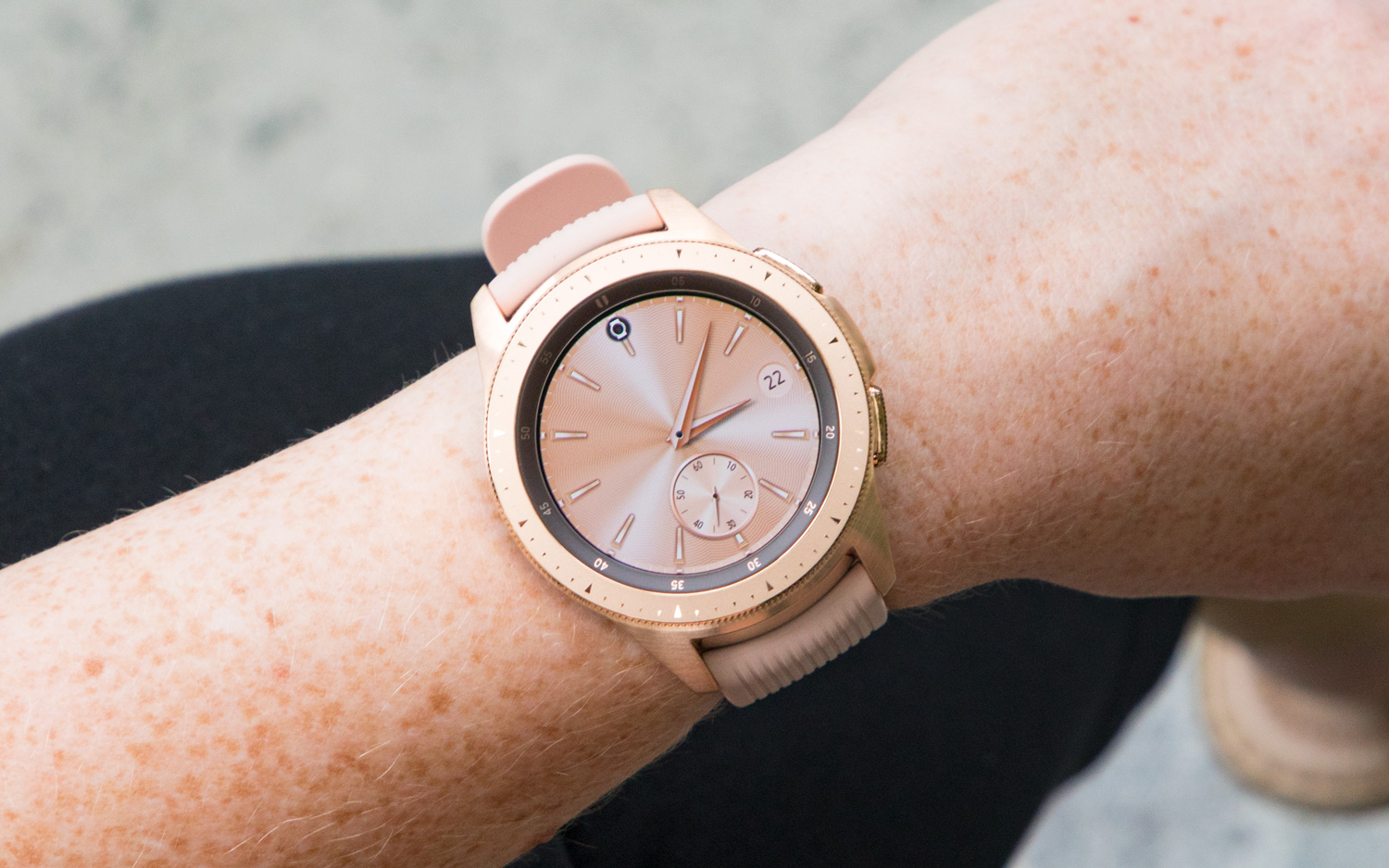 Samsung Galaxy Watch Review Get It For The Battery Life Tom S Guide