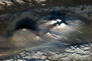 Hadfield Volcanoes