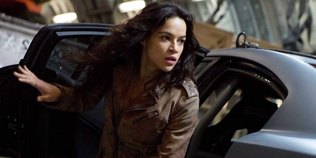 Michelle Rodriguez as Fast and Furious' Letty Ortiz