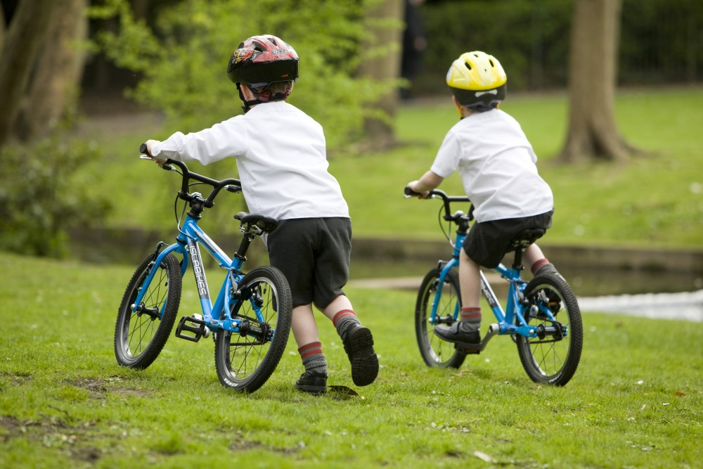 balance bike or stabilisers