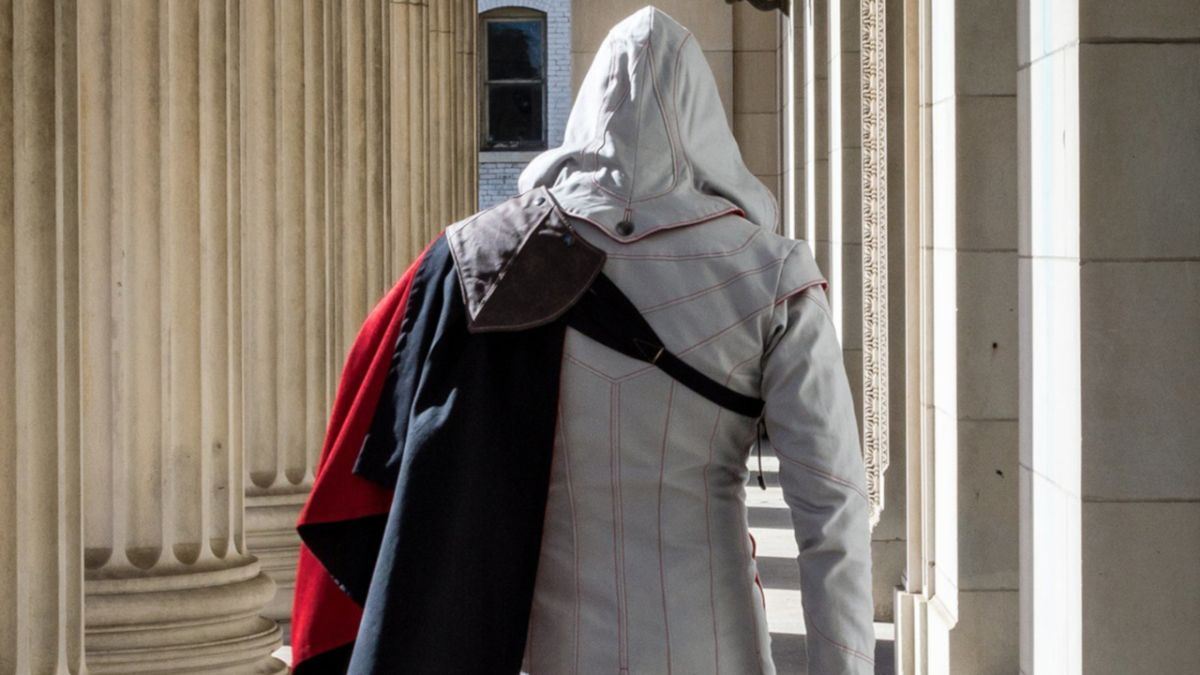 This Assassin's Creed line of hooded jackets puts your Ezio costume to shame