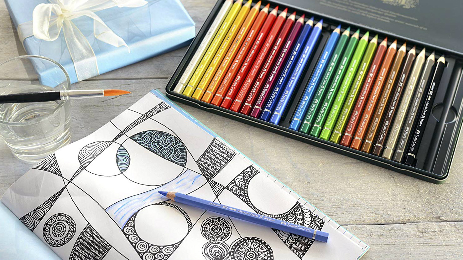 Professional Quali... Set of 72 Derwent Inktense Permanent Watercolour Pencils