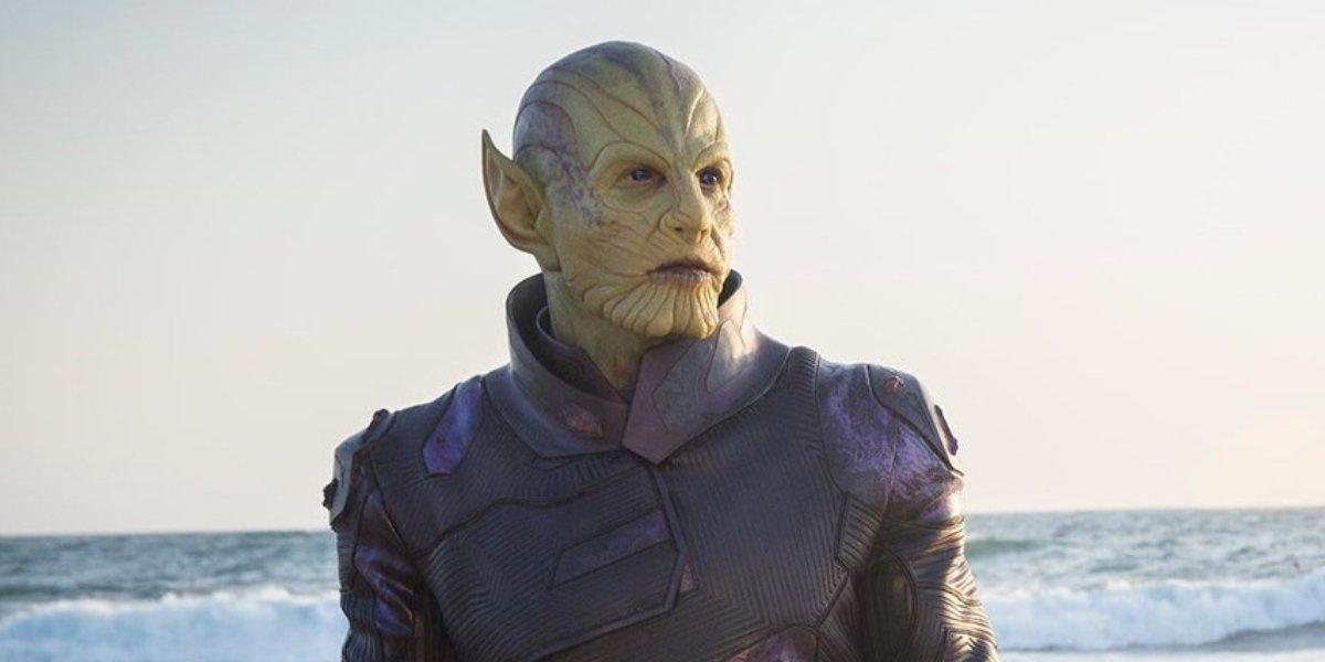Secret Invasion's Ben Mendehlson as Talos in Captain Marvel