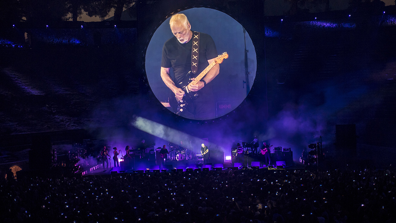 David Gilmour shares live Comfortably Numb video