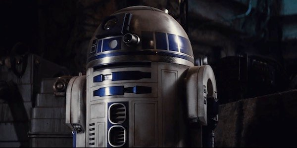 R2-D2 in Star Wars: The Force Awakens
