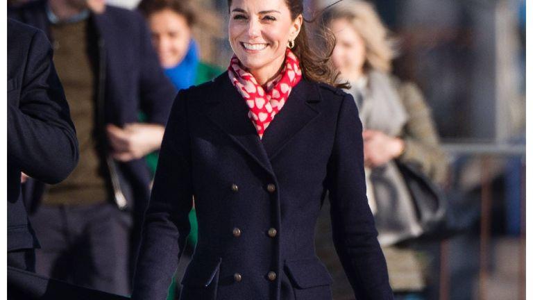 Duchess of Cambridge wearing Hobbs coat