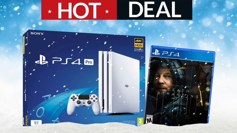 Sony PlayStation 4 Pro Hideo Kojima Death Stranding Christmas gifts gaming deals