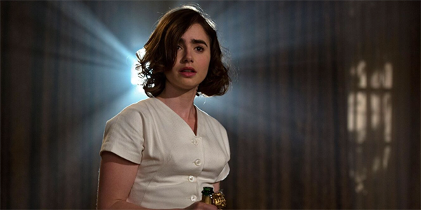 Lily Collins in Rules Don't Apply