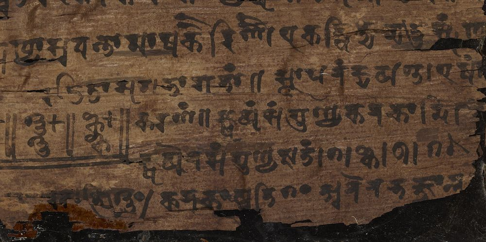 Nothing to See Here: India's Oldest Use of Zero Identified