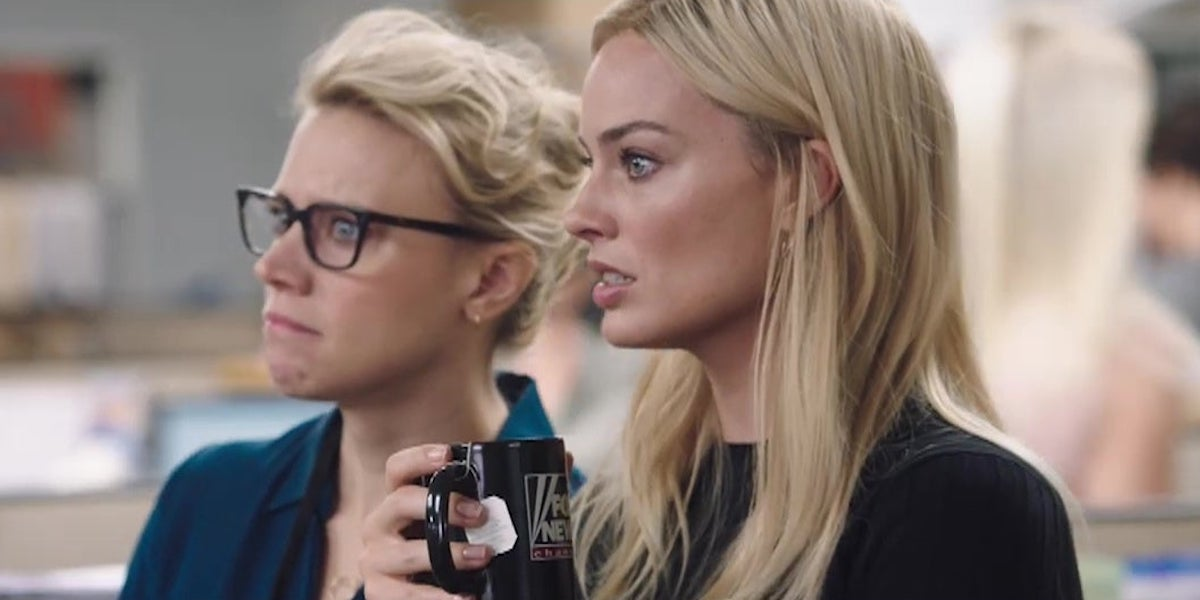 Kate McKinnon and Margot Robbie in Bombshell