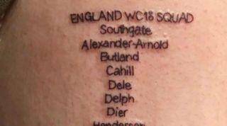 England tattoo