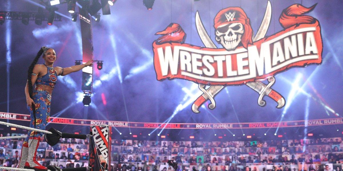 Bianca Belair at Royal Rumble 2021