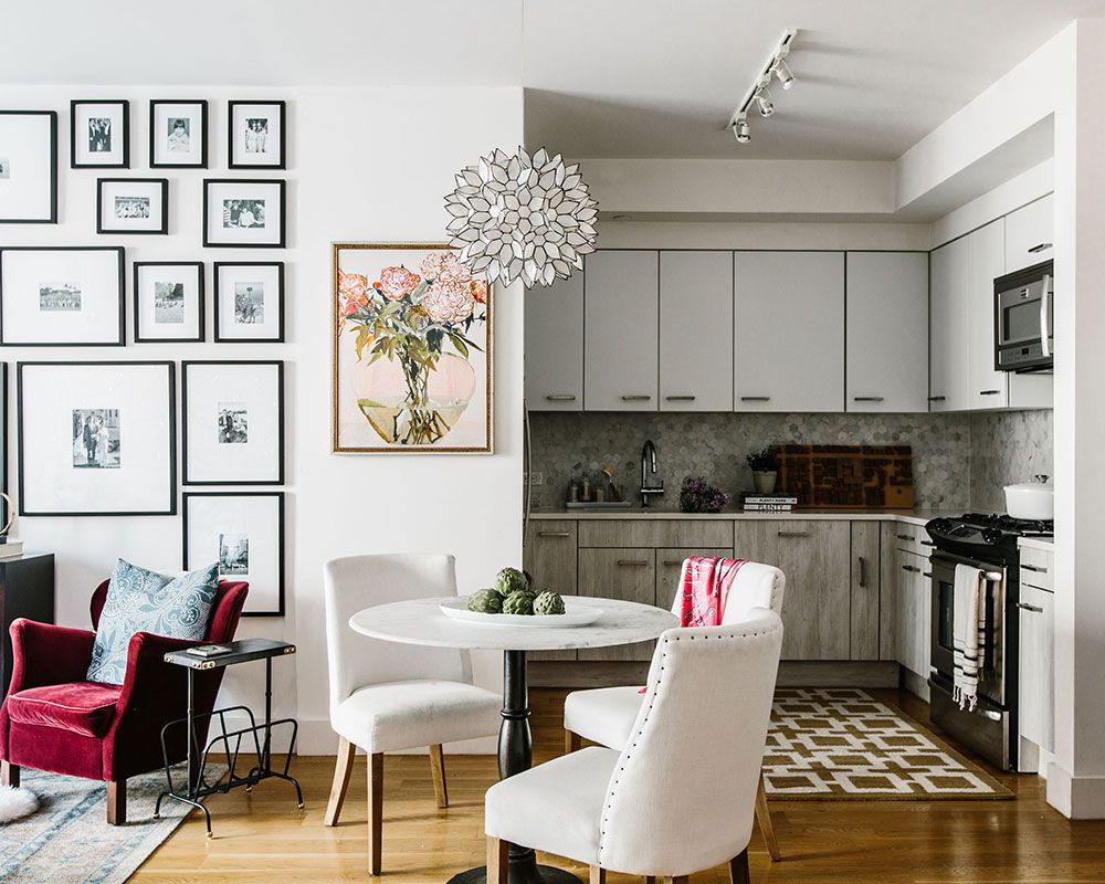 Tour this small, space-saving house in New York, designed by Corine Maggio