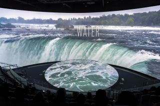 The Aquarium of the Pacific in Long Beach, CA, features a one-of-a-kind immersive AV experience.