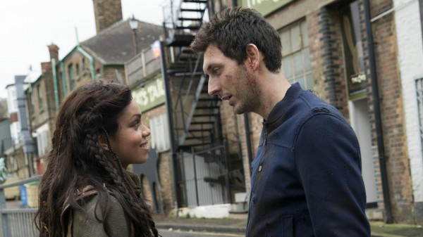 Georgina Campbell and Blake Harrison in Tripped