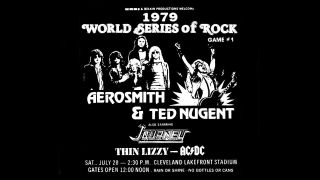 World Series Of Rock 1979 poster