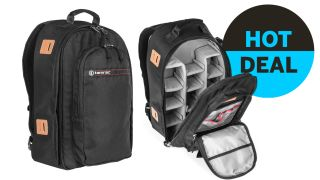 Save $75! This huge Tamrac camera backpack is just $49.95 today