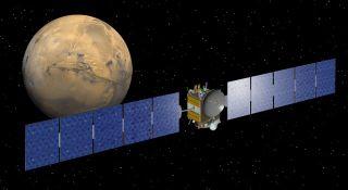 Asteroid-Bound Probe Zooms Past Mars