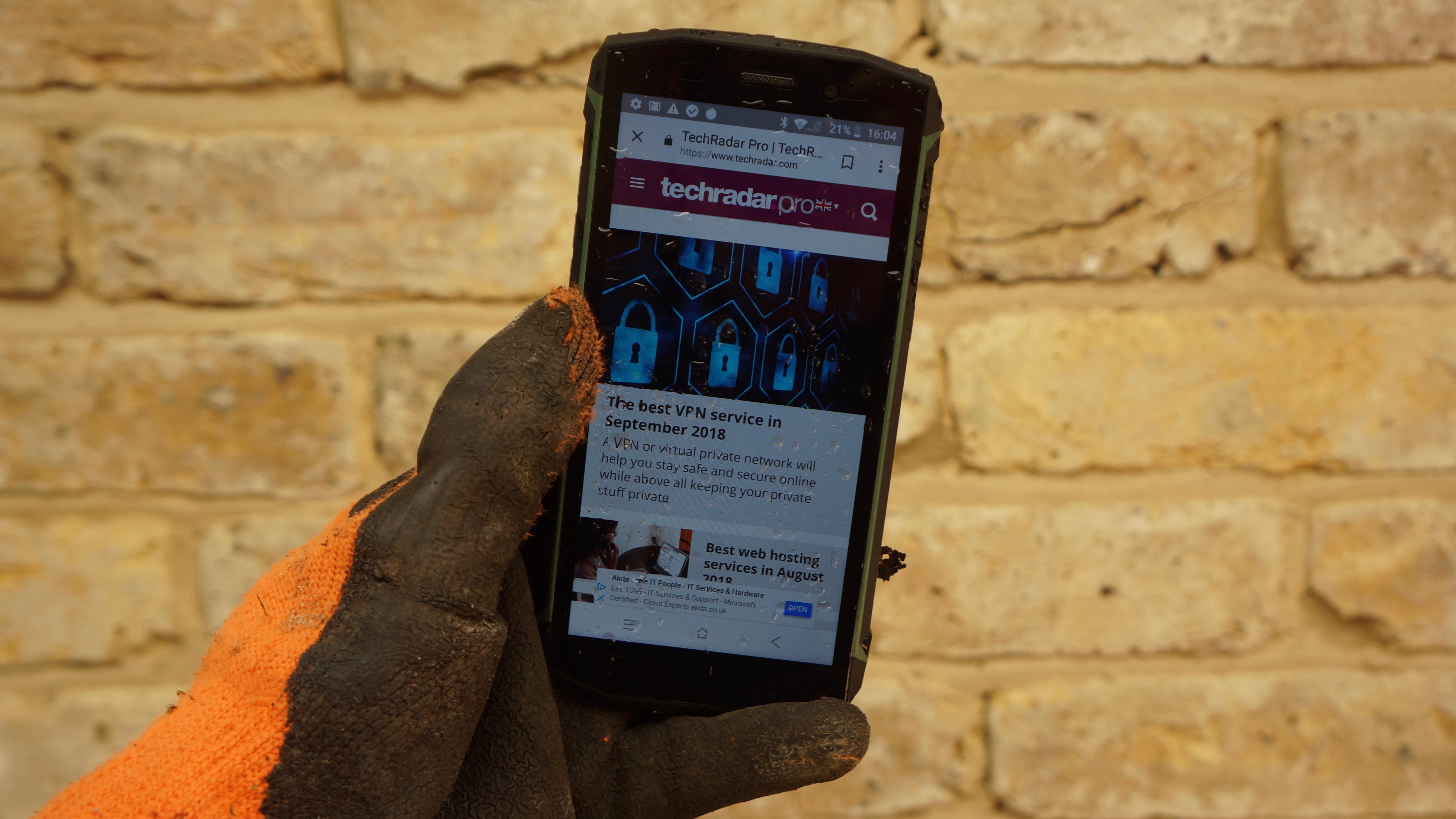 Blackview BV5800 Pro rugged smartphone review | TechRadar