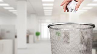Office recycle bin