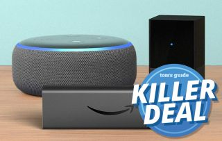 Echo Dot, Fire TV Blaster, and Fire TV Stick 4K Bundle